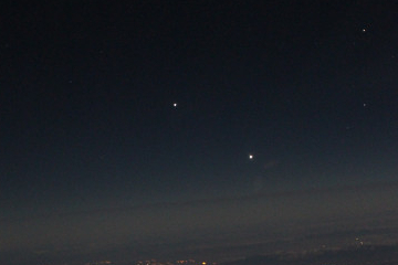 Venus / Jupiter conjuncion