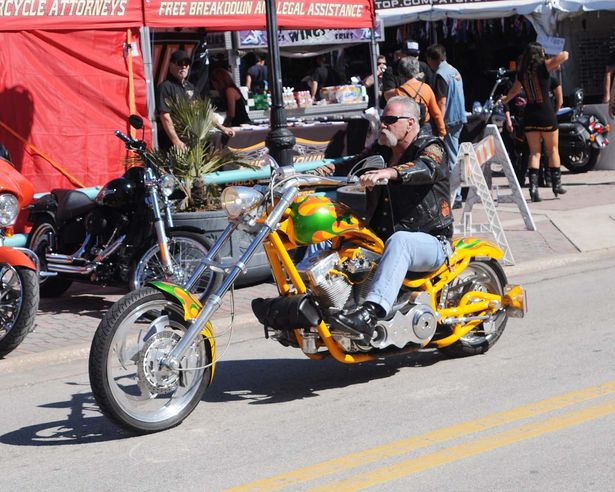 73rd Daytona Bike Week 2014 was in full swing