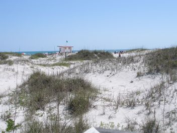 Jetty Park Beach at Port Canaveral