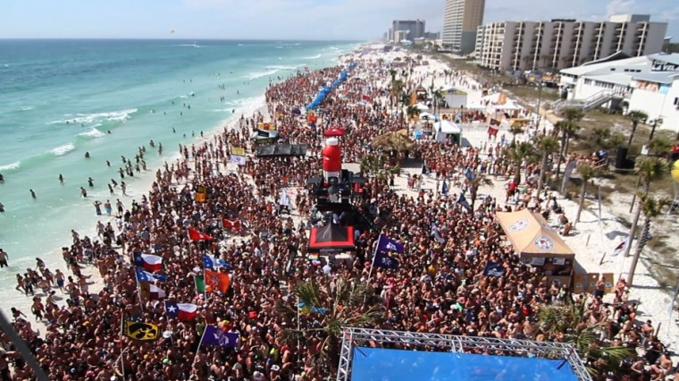 Head north once you come to Spring Break at New Smyrna Beach
