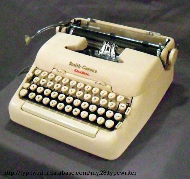 Old Smith Corona Typewriter