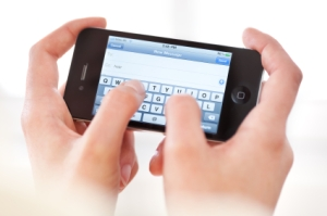 Thumb typing