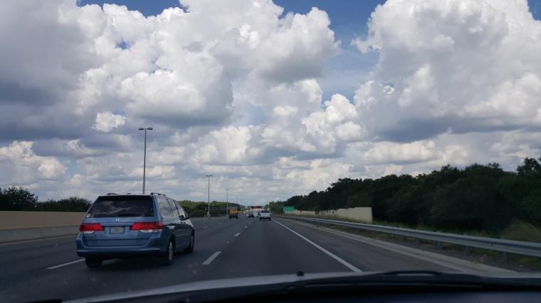 Heading home via the Florida Turnpike
